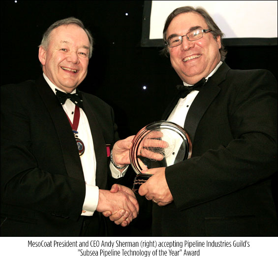 Subsea Pipeline Technology of the Year Award